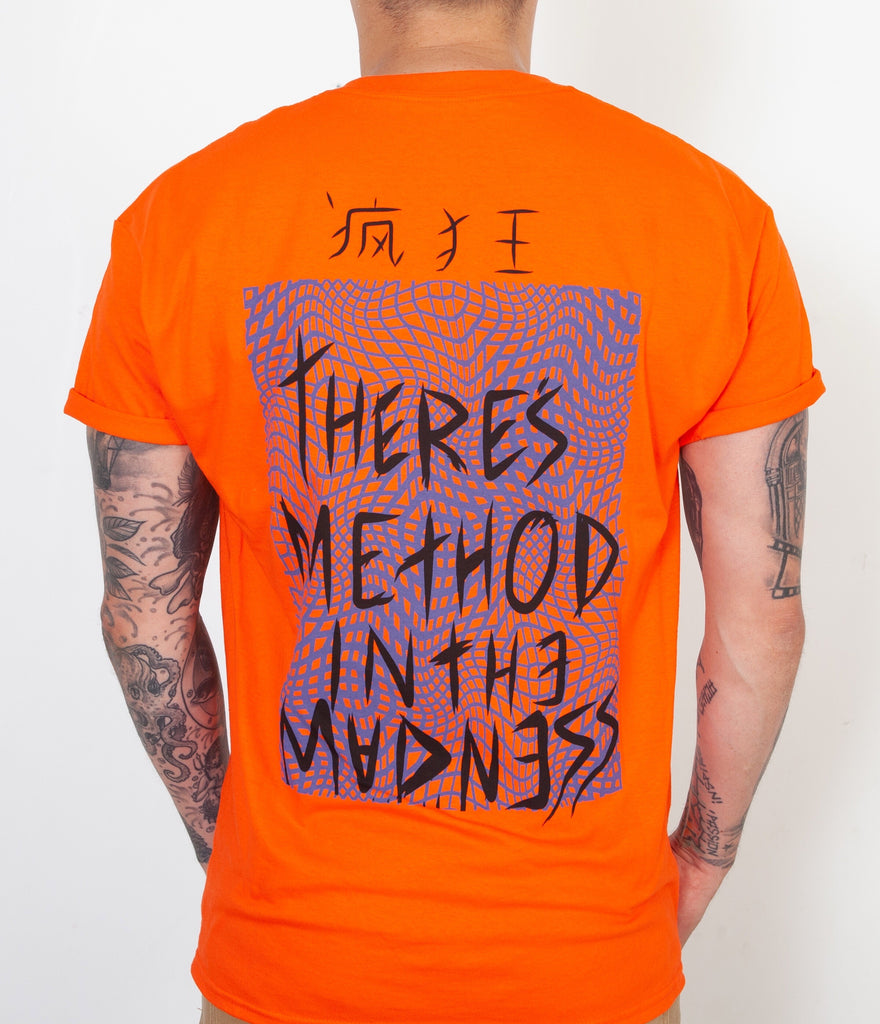 Method In The Madness Orange Tee