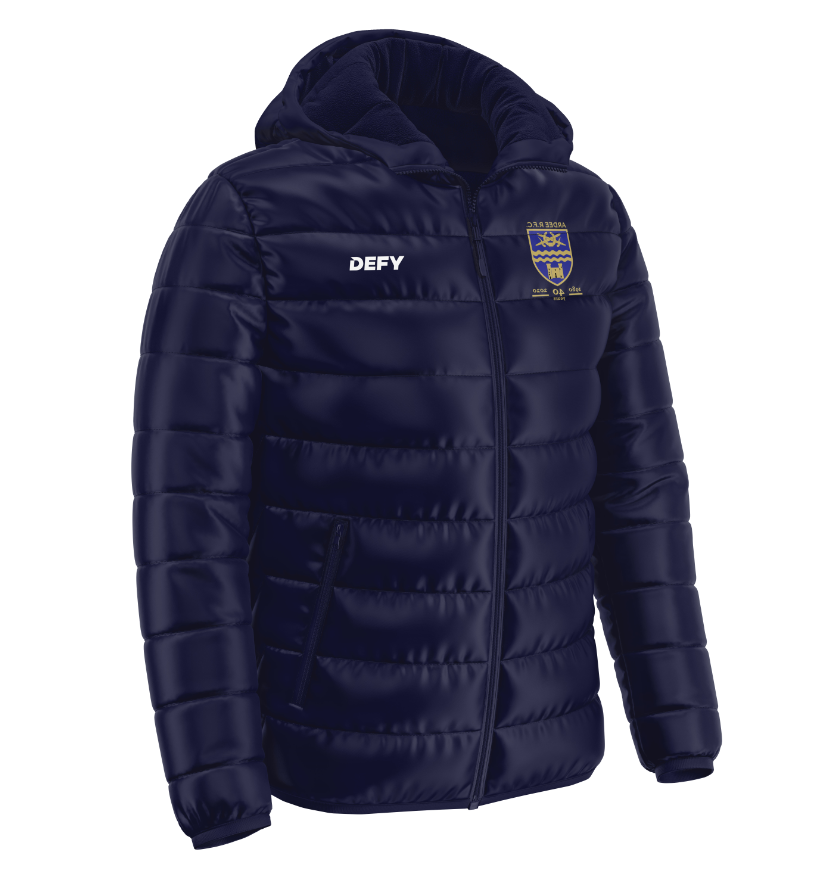 Ardee RFC Puffer Jacket - Kids, Mens and Ladies Fit