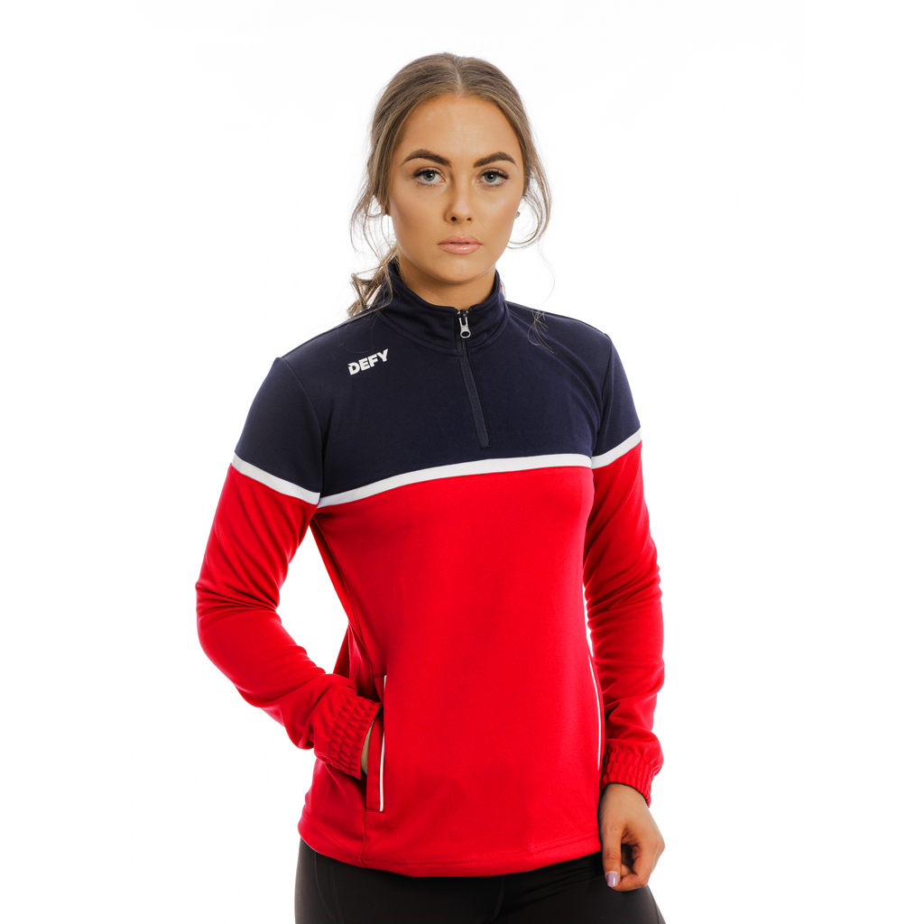 Ladies Solo Quarter Zip