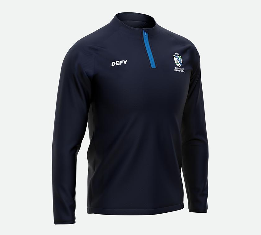 DUNDALK YOUNG IRELANDS Mens Flex Training Quarter Zip