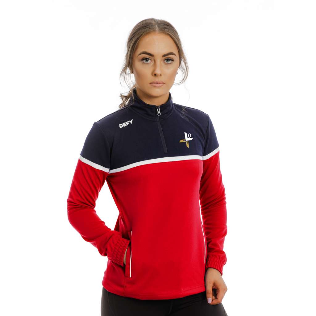 Louth LGFA Solo Quarter Zip
