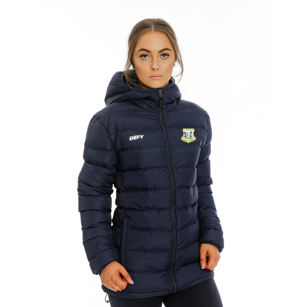 St Joseph's GFC Puffer Jacket Ladies
