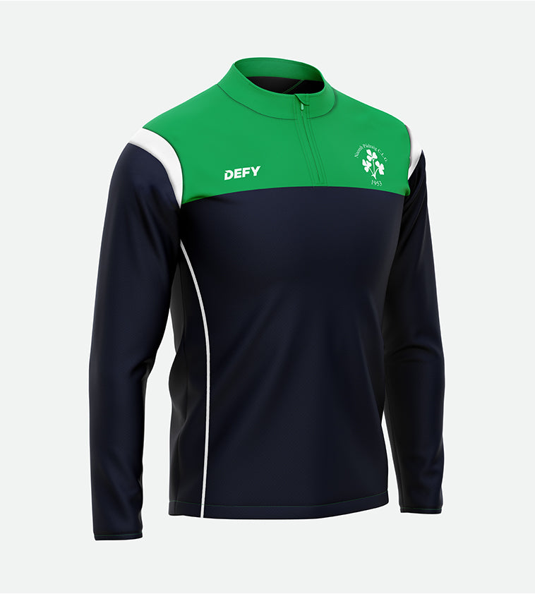 St Pat's Split Arc 1/4 Zip Top Ladies