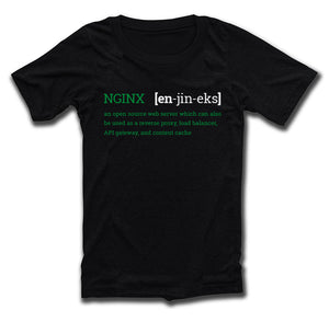 NGINX Pronunciation Tee (Fitted)