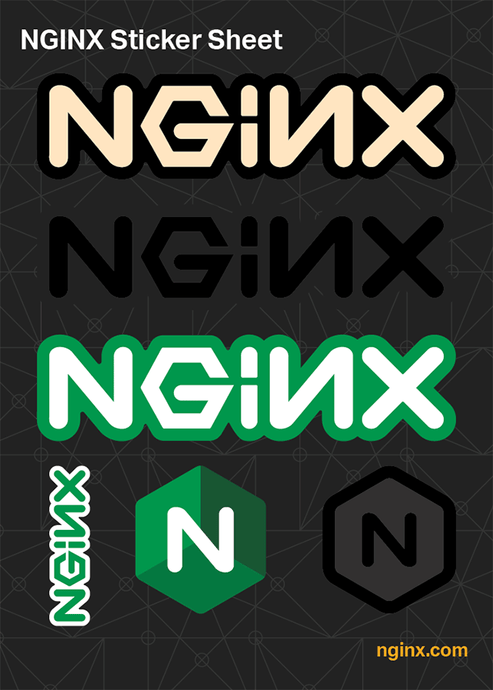 NGINX Sticker Sheet