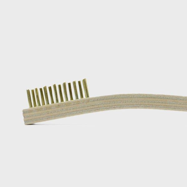Brass Cleaning Brush | Otter Wax - LEATHER GOODS AND CARE - Brush LEATHER CARE leather goods Otter Wax