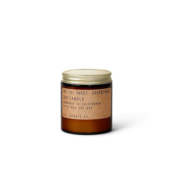 Candle | No. 10 Sweet Grapefruit | P.f Candle Co. - Candles - 3.5 Oz - 7.2 Oz - Candle - Grapefruit Candle - No. 10 Sweet Grapefruit