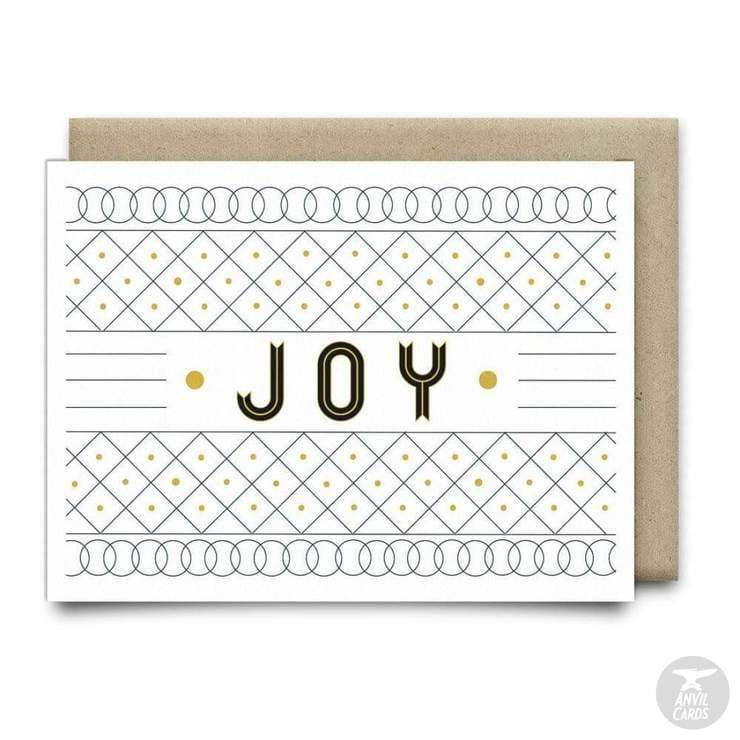 Joy Christmas Card | Anvil Cards - Cards and Stationery - Anvil - Card - Cards - Christmas - Joy