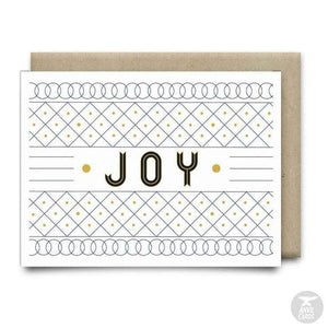 Joy Christmas Card | Anvil Cards - CARDS AND STATIONERY - anvil Card cards christmas joy