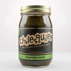 Roasted Green Salsa | Chilesquiles - Pantry and Bar - Chilesquiles - Father's Day - Food - Pantry - Roasted Green Salsa