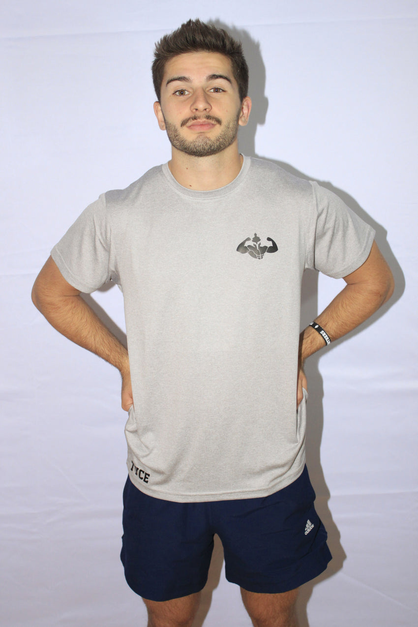 T-shirt Performance Silver