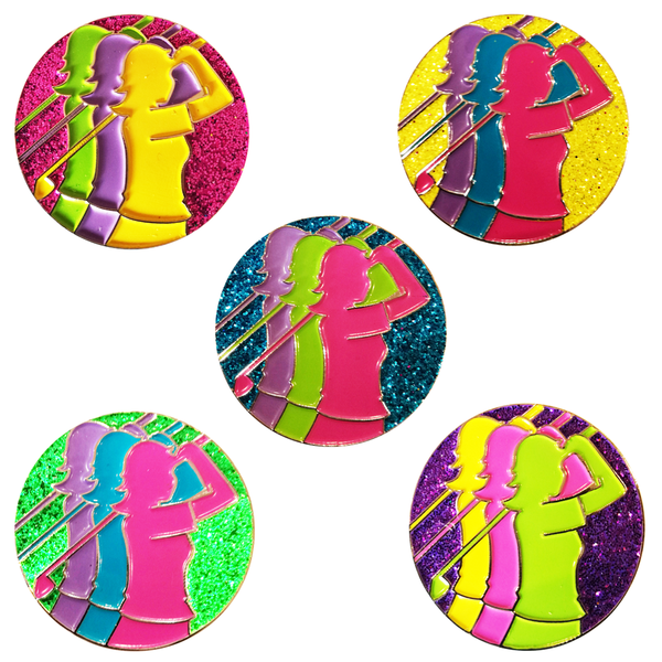Lady Captain's Away Day 2019 Ball Markers + FREE GIFT PEN - golfprizes