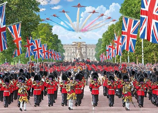 Trooping the Colour Gift Jigsaw Puzzle - golfprizes