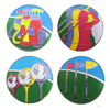 Art of Golf Ball Marker in Organza Bag - golfprizes