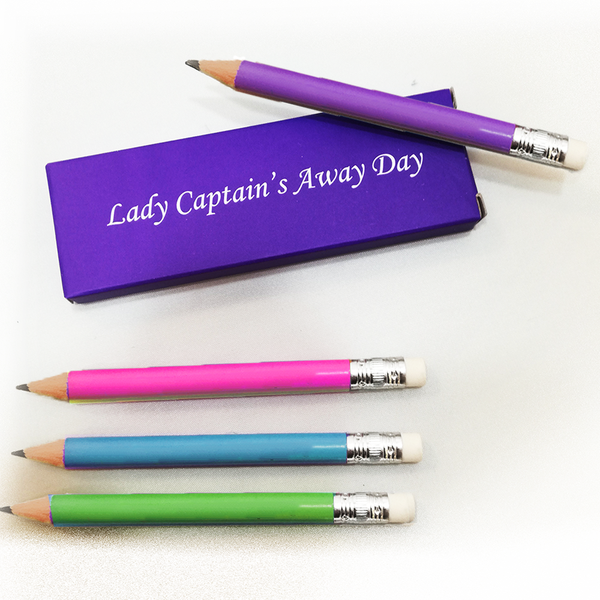 Four Pencils in Lady Captain Away Day Presentation Box - golfprizes
