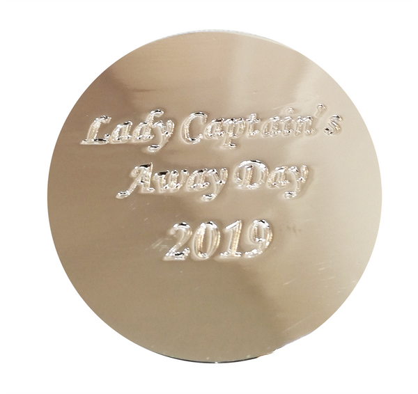Lady Captain's Away Day 2019 Ball Markers - ONLY 50p!! - golfprizes