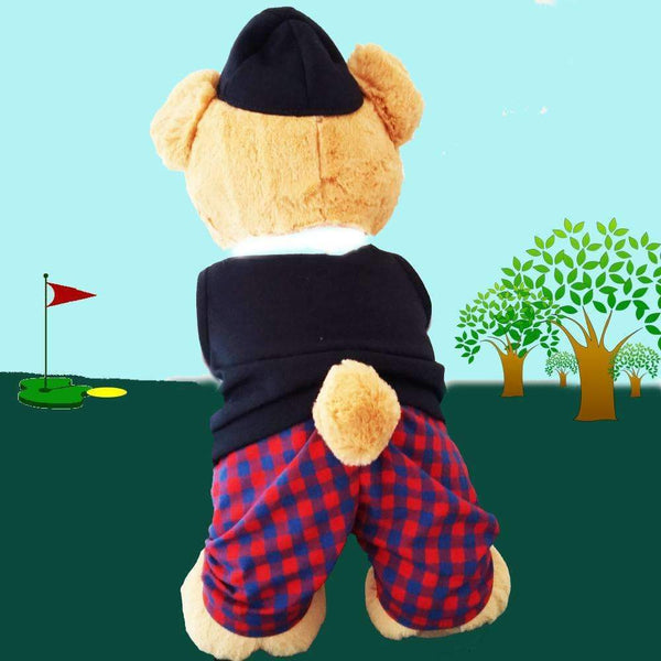 Golfing Boy Teddy Bear - golfprizes