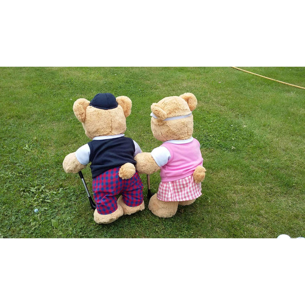Golfing Girl Teddy Bear - golfprizes