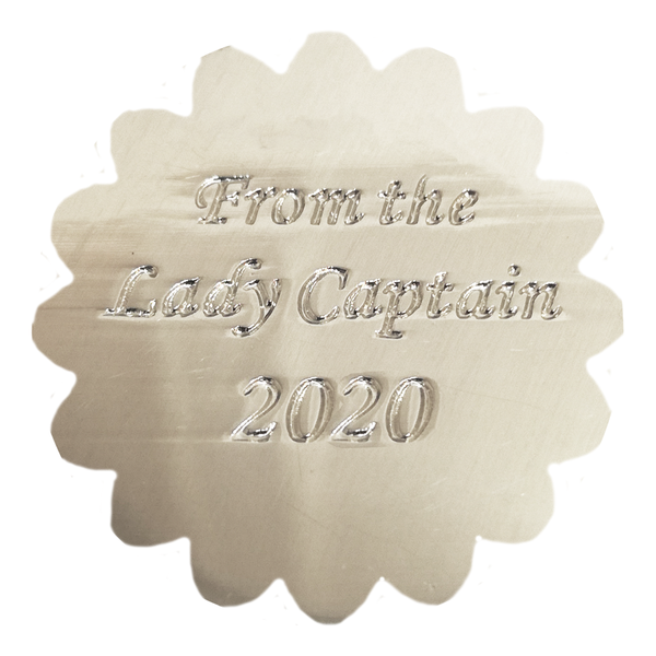 From the Lady Captain 2020 Ball Marker - REDUCED TO 0.50p - golfprizes