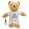 Many Happy Returns Tennis Teddy Bear - golfprizes