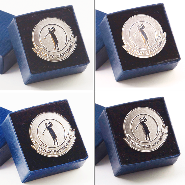 Lady Captain Brooches - golfprizes