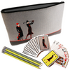 Art Deco Clutch Bag, Cards and Pencils - golfprizes