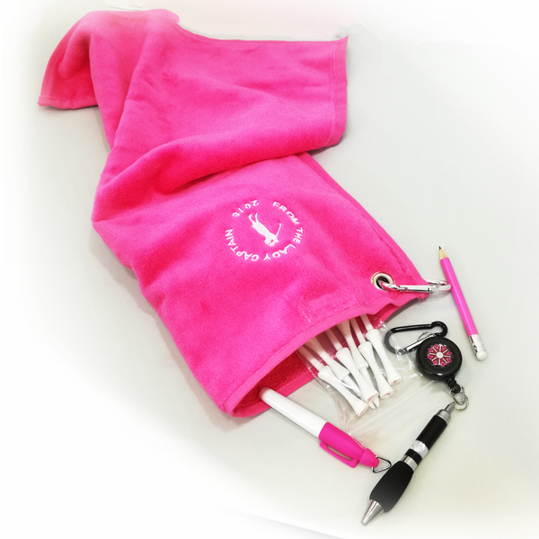 Pocket Towel + Accessories - IDEAL COMMITTEE GIFT - golfprizes