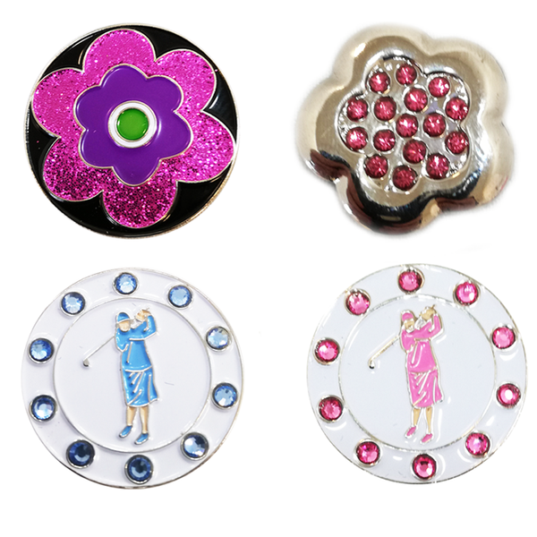 Crystal and Sparkle Ball Marker Gift Set - golfprizes