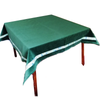 English  Velvet Bridge Cloth with Designer Trim (green) - golfprizes
