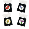 Flower Ball Markers and Visor Clip - golfprizes