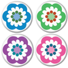 Flower Art Ball Markers - golfprizes