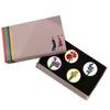 Flower Ball Markers in Presentation Sleeve - golfprizes