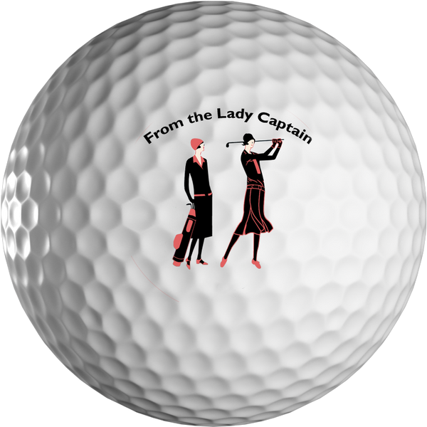 Lady Captain Golf Ball in Presentation Box - golfprizes