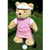Golfing Teddy Bear - girl