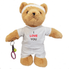 I Love You Tennis Teddy Bear - golfprizes