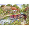 500 Piece Jigsaw Puzzle - Drifting Downstream - golfprizes