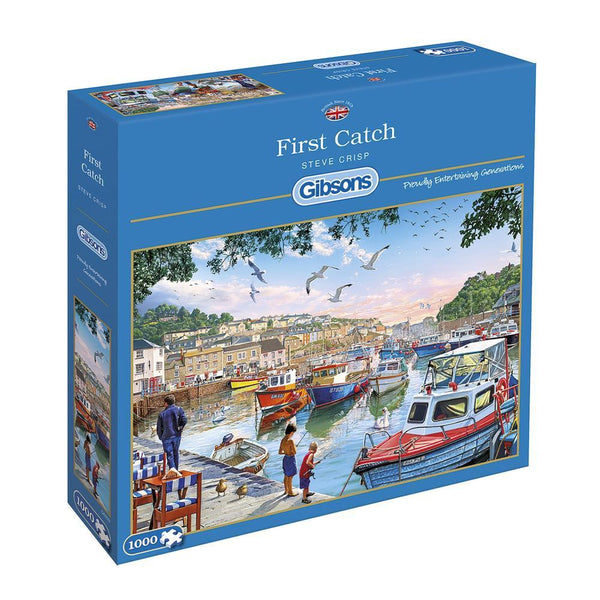 1000 Piece Jigsaw - First Catch - golfprizes