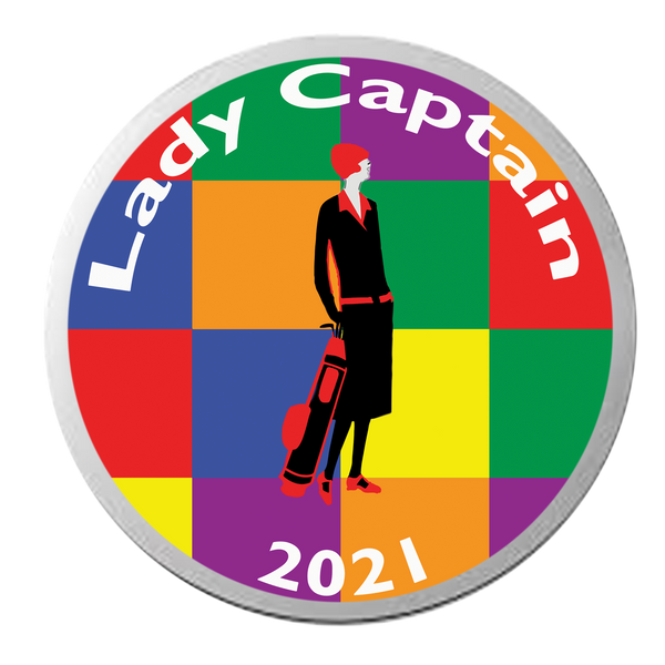 Lady Captain 2021 Ball Marker - SPECIAL EDITION - golfprizes