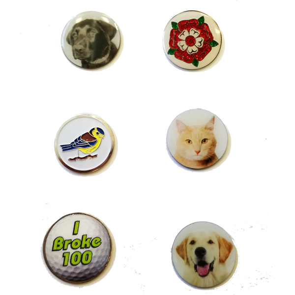 Novelty Ball Markers - £1.00 each - golfprizes