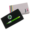 Irish Shamrock Ball Marker and Pencil in Presentation Sleeve - golfprizes