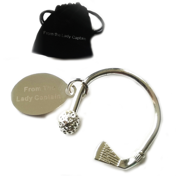 From the Lady Captain Designer Keyring - golfprizes