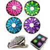 Sparkly Ball Markers and  Visor Clip Set - golfprizes