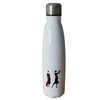 Stainless Steel Thermo Drinks Bottle in Jute Gift Bag - golfprizes