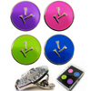 Three Tee Ball Markers and  Visor Clip Set - golfprizes