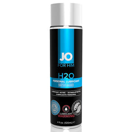 Men H2O Lubricant Warming 120 ml System Jo 40379