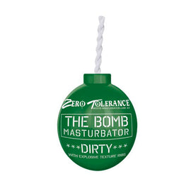 The Bomb Masturbator Dirty Textured Stroker Sleeve Green-Xwish.eu