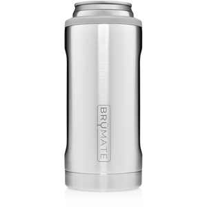 Brumate - Hopsulator Beer Cooler 12oz Slim Can | Stainless