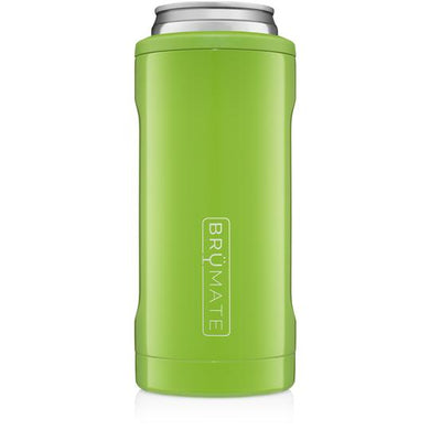 Brumate - Hopsulator Beer Cooler 12oz Slim Can | Electric Green