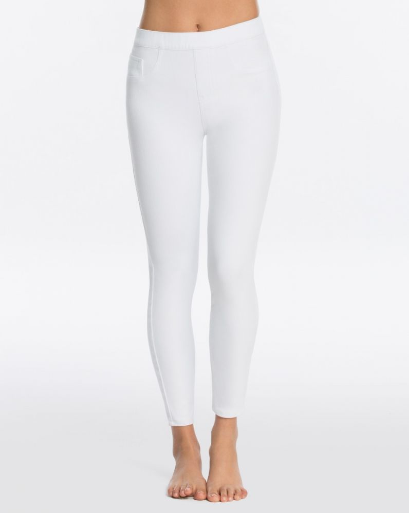 SPANX - Ankle Jean-ish Leggings - White