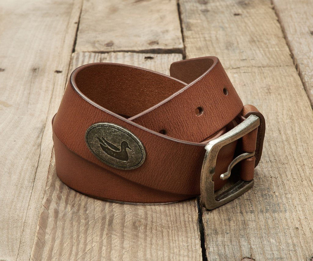 Southern Marsh - Leather Belt - Stone Brown